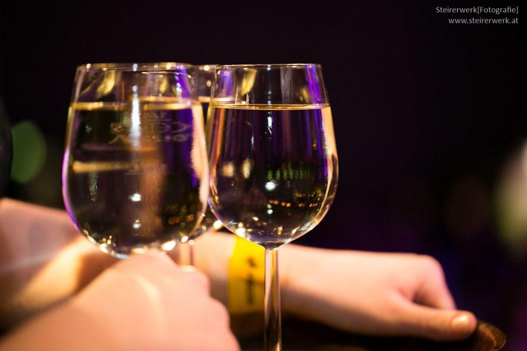 Wein trinken Ball