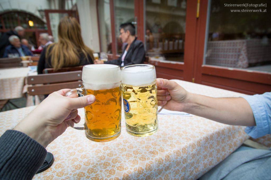 Bier Trinken in Deutschland